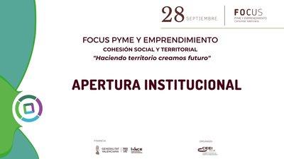 apertura institucional focus cohesion territorial