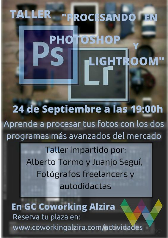 PROCESANDO EN PHOTOSHOP Y LIGHTROOM
