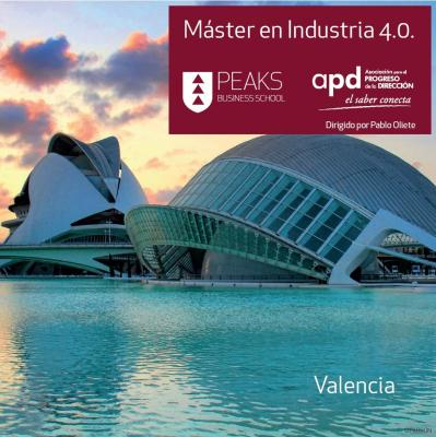 Empieza ya el Máster en Industria 4.0. de PEAKS Business School