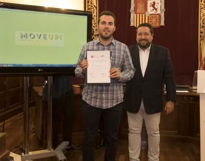 Acto entrega de premios y diplomas  Move Up! 2017. David Berbel