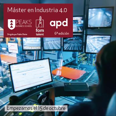 Máster industria 4.0 PEAKS