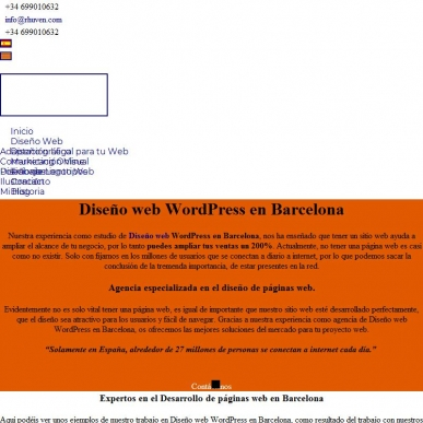 Expertos en Diseño web WordPress en Barcelona y Marketing Online .